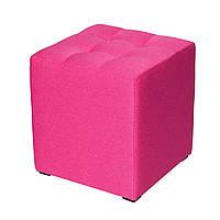 Пуф Куб-3 красный