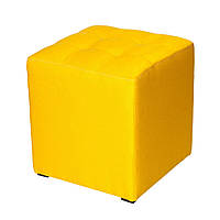 Пуф Куб-3 желтый