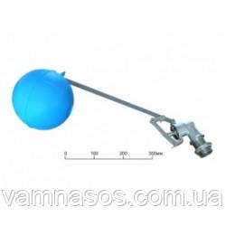 """Поплавковий Клапан F. A. R. G. 3/4"""" + куля пластиковий 120 мм."""