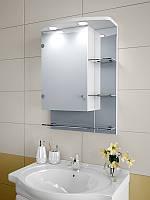 Шкаф зеркальный с подсветкой 700*500*125