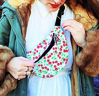 Цветная сумочка с вишенками, фото 1