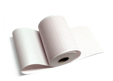 Бумага для ЭКГ, лента диаграммная рулон 80мм х 23м