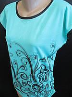 На лето футболки для женщин., фото 1
