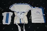 Мереживний конверт-ковдру для новонародженого, фото 2