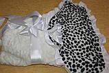 Конверт-одеяло для новорожденного леопардовый, фото 3