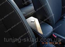 Чохли на сидіння Тойота Королла 10 (чохли з екошкіри Toyota Corolla X стиль Premium)