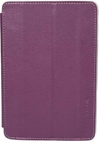 Стильный чехол для планшета с диагональю 7 на липучке Continent Universal UTS-71VT фиолетовый