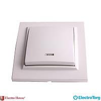 ElectroHouse Enzo выключатель одноклавишный с подсветкой EH-2103