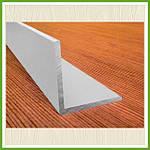 Уголок алюминиевый равносторонний, равнополочный
