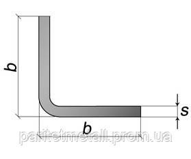 Уголки гнутые равнополочные 09Г2С