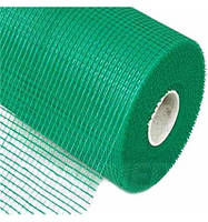 Сетка стеклотканная 4*4мм, 165 гр/м, зеленая, 50м