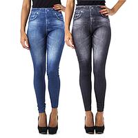 Утягивающие джинсы (легинсы) Slim 'n Lift, джеггинсы, джинсовые леггинсы, утягивающие джинсы леджинсы, фото 1