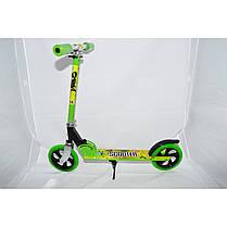 Самокат Maraton Scooter 46 двоколісний 2.5, Взрослая, 200.0, 2, зелений, Складная, 100.0, Алюминий, Городской