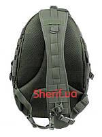 Рюкзак однолямочный 40 литров хаки армейский Condor Sling Bag OD