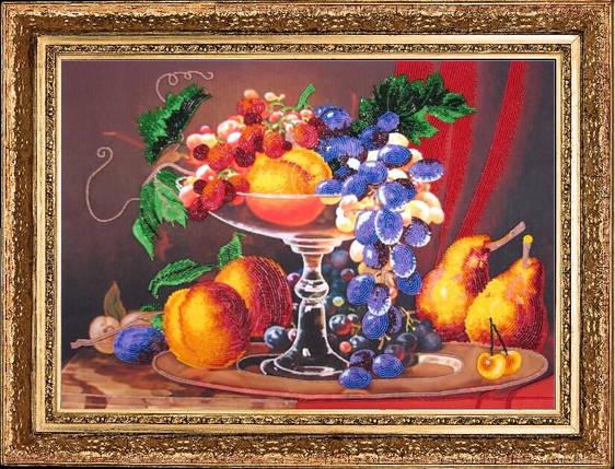 """Набор для вышивания бисером """"Натюрморт с персиками"""", фото 2"""
