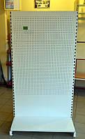 Торговый стеллаж с перфорированной панельной стенкой ВИКО. В наличии. Распродажа торгового оборудования