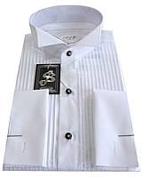 Рубашка мужская приталенная под бабочку №10/149