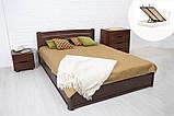 Двоспальне ліжко Марія з підйомним механізмом 140х200 см, фото 7