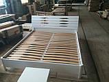 Двоспальне ліжко Марія з підйомним механізмом 140х200 см, фото 6