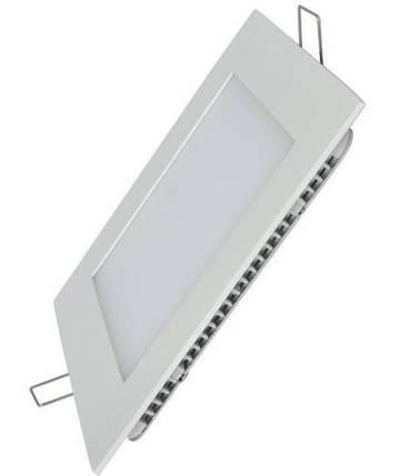 Светодиодная панель SL18 S 18W 3000K  квадрат белый Код.58617, фото 2