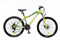 "Велосипед Optimabikes Alpina 26"" AM 14G DD Al 2016 (OPS-OP-26-058-1) зеленo-белый"