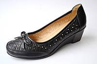 Туфли женские черные  р. 36-41, фото 1