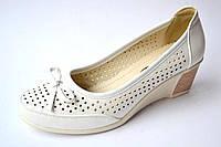 Туфли женские белые  р. 36-41