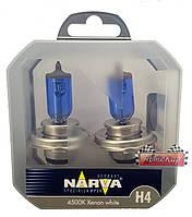 Narva Range Power White лампы с увеличенным светопотоком ✔ тип лампы H4 ☀ 4500К  ✔ 2шт