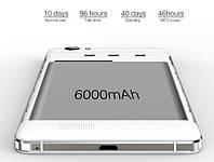 Oukitel K6000 - смартфон с лучшим аккумулятором