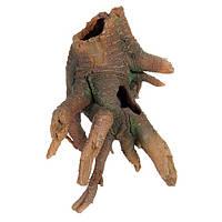 Декорация для террариума Trixie (Трикси) Коряга-пень для рептилий, 22 см