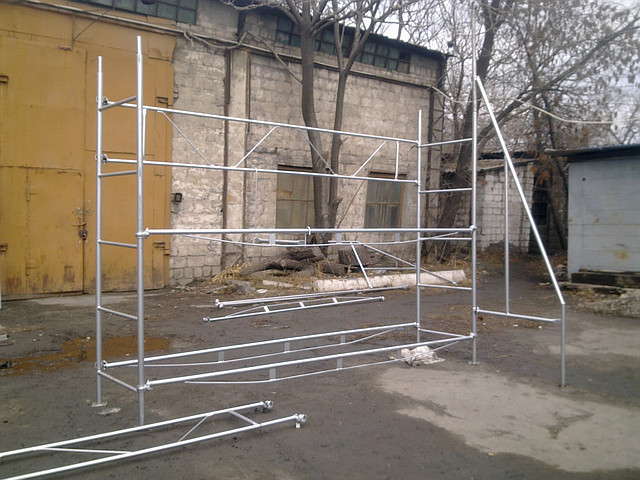 Леса строительные клино–хомутовые - Леса-сервис в Киеве