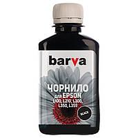 Чернила BARVA для фабрик печати EPSON L100 / L210 / L220 / L300 / L350 / L355 / L365 (T6641) Black 180г
