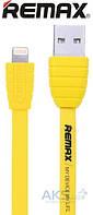 USB кабель REMAX Dream Lightning Cable Yellow