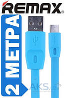 USB кабель REMAX Full Speed Cable micro-USB 2M Blue