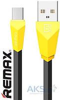 USB кабель REMAX Alien micro-USB RC-30m Yellow / Black