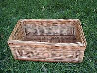 Ящик плетенный из лозы  37см*22 см. Корзины для хранения.