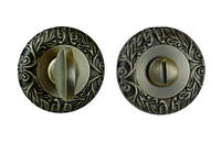 Фиксатор круглая розетка античная бронза (квадрат 8)