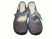 Тапочки в садик для мальчика, текстильная обувь Vitaliya, ТМ Виталия Украина, р-р 30, 31, 31,5