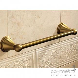 Аксессуары для ванной комнаты Gedy Держатель полотенца Gedy Romance 7521-44-35 35см цвет бронзовый