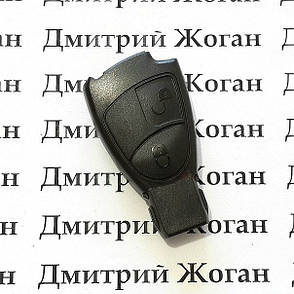Корпус смарт ключа MERCEDES W203, C,S-class (мерседес) 2 - кнопки, фото 2