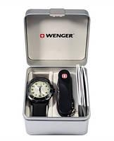 Набор наручные часы Wenger Alpine 70474 и нож Evolution ST 10.814