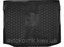 Поліуретановий килимок в багажник Peugeot 4008 2012- (AVTO-GUMM)