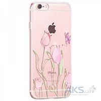 Чехол Hoco Super Star Inner Diamond Flower Apple iPhone 6 Plus, iPhone 6S Plus Tulip