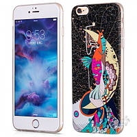 Чехол Hoco Element Series Mythology Mermaid Apple iPhone 6, iPhone 6S Black