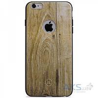 Чехол Hoco Element Series Wood Grain Apple iPhone 6 Plus, iPhone 6S Plus Champagne