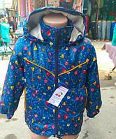 Детская демисезонная курточка с капюшоном