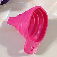 Лейка (воронка) складная силиконовая mini