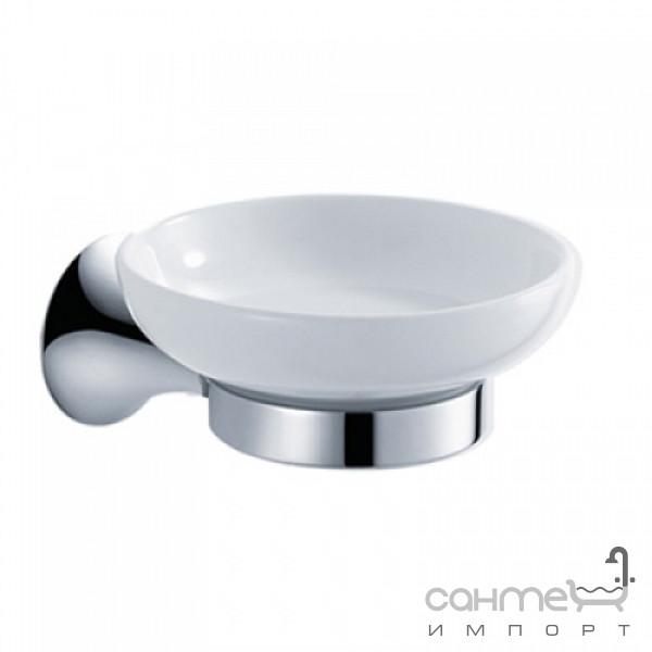 Аксессуары для ванной комнаты Kraus Мыльница настенная Kraus Amnis KEA-11105 CH хром