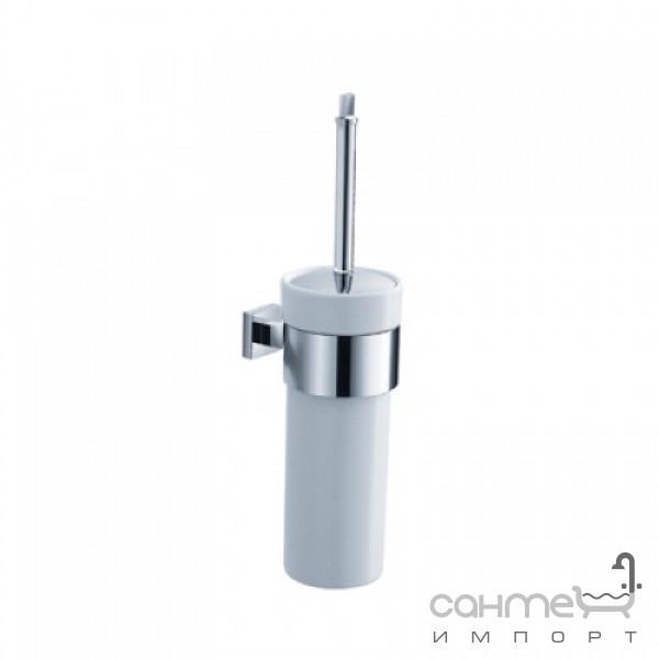 Аксессуары для ванной комнаты Kraus Ёршик для туалета настенный Kraus Aura KEA-14431 CH хром