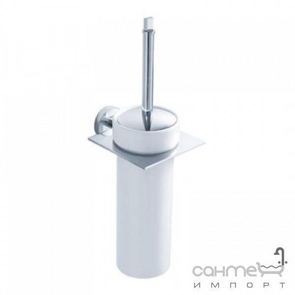 Аксессуары для ванной комнаты Kraus Ёршик для туалета с настенным держателем Kraus Imperium KEA-12231 CH хром